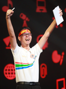 Tran The Trung's journey to triumph at TV quiz show