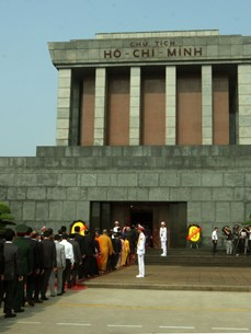President Ho Chi Minh Mausoleum - where love and respects continue