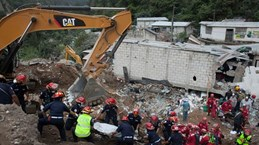 Condolences sent to Guatemala over deadly mudslide