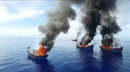 Palau detains Vietnam's fishing vessels