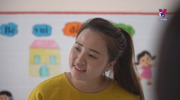 Young teacher volunteers for remote area