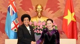 NA Chairwoman welcomes Fijian counterpart