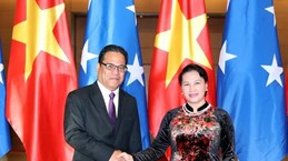 Micronesian Speaker of the Congress concludes Vietnam visit