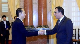 President receives new foreign ambassadors