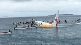 Four Vietnamese aboard Papua New Guinea's plane overshooting runway