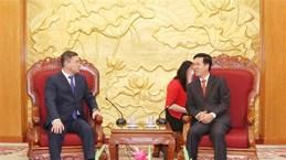 Delegation of Kazakhstani Nur Otan party welcomed