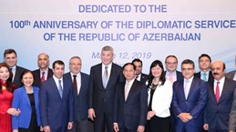 Vietnam, Azerbaijan look to increase diplomatic coordination