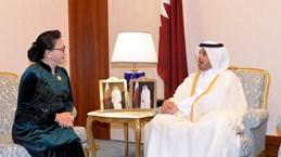 Vietnam treasures ties with Qatar: NA Chairwoman