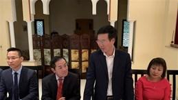 Politburo member Vo Van Thuong pays visit to Morocco