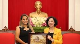 United Socialist Party of Venezuela's delegation welcomed in Hanoi