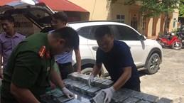 Hoa Binh police bust trafficking of 100 heroin bricks