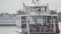 Ferries linking Can Gio, Vung Tau to start this year