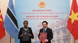 Deputy PM, Botswana Foreign Minister hold talks