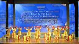 Vietnamese, Israeli folk programme thrills audiences in Lao Cai