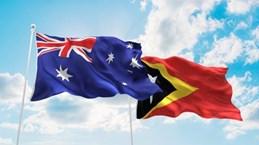 Australia helps Timor Leste build gas pipeline