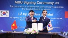 Korean group supports smart city development in Hung Yen