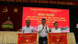 Long An: 77 communes recognised as new-style rural areas
