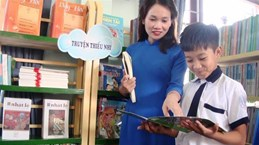 New school library inaugurated in Quang Binh