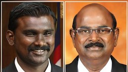 Malaysian police arrest two politicians from ruling party