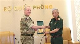 Deputy Defence Minister receives UK defence attachés