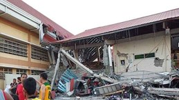 Strong earthquake hits southern Philippines