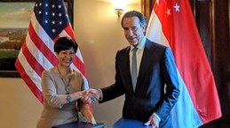 Singapore, US sign deal on infrastructure finance, market building