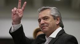 Leader congratulates President of Argentina