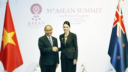 Prime Ministers of Vietnam, New Zealand meet in Bangkok
