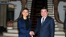 HCM City, Belgium's Antwerp province bolster cooperation