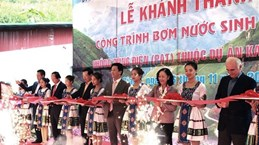German-funded project brings water to residents in Dong Van Karst Plat
