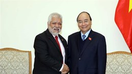 Prime Minister receives outgoing Venezuelan ambassador