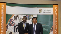 NA's Ethnic Council delegation visits South Africa