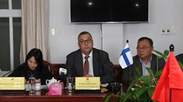 Hau Giang hopes for Finland's cooperation in various areas