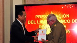 Vietnam Defence White Paper debuted in Cuba