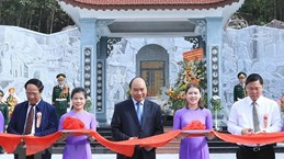 PM attends inauguration of temple dedicated to martyrs in Quang Nam