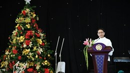 Indonesian FM discusses with Iranian, US ambassadors