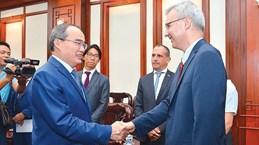 Ho Chi Minh City, France boost ties