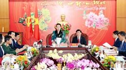 NA Chairwoman works with Dak Lak province's leaders
