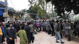 Account receiving foreign money in Hanoi disturbance case frozen