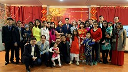 OVs join get-togethers ahead of Lunar New Year festival