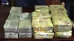 Nghe An, Thanh Hoa police seize huge amount of trafficked drug