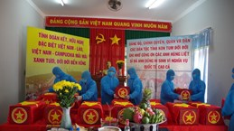 Remains of 21 Vietnamese soldiers repatriated from Laos, Cambodia