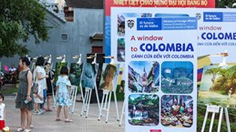 Colombia's landscapes introduced in Vietnam