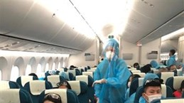 Over 340 Vietnamese citizens flown home from Angola