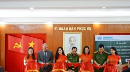 UNODC Border Liaison Office set up in Cao Bang province