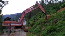 Quang Nam: 21 survive landslides in Nam Tra My