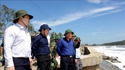 Natural disaster prevention committee monitors localities' recovery from Storm Molave