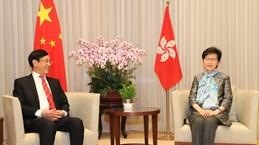 Hong Kong Chief Executive receives outgoing Vietnamese Consul General