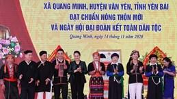 Top legislator attends great national solidarity festival in Yen Bai