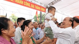 PM joins Hai Duong people in great national solidarity festival